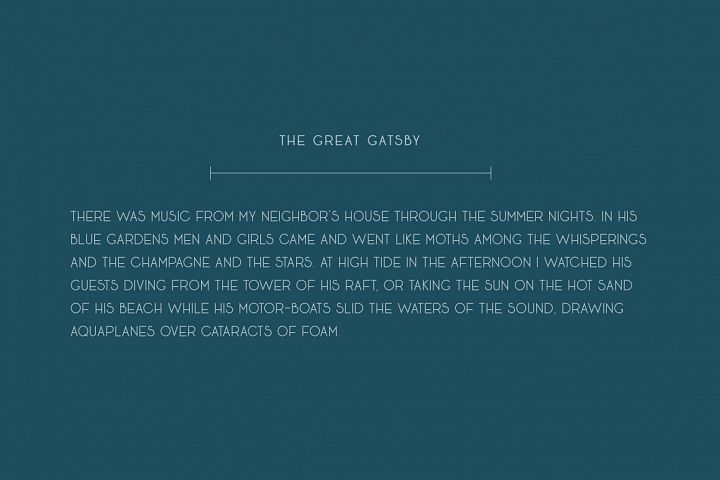 Seafarer | A Beachy Art Deco Font example image 8