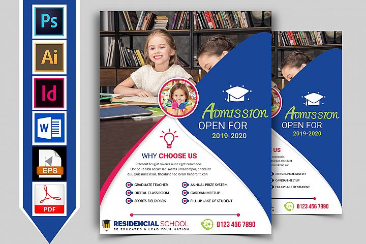 School Flyer Template Vol-02