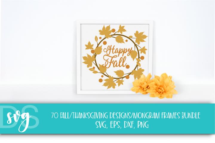 Fall, Pumpkin, Halloween, SVG, PNG, Thanksgiving Bundle, example 3