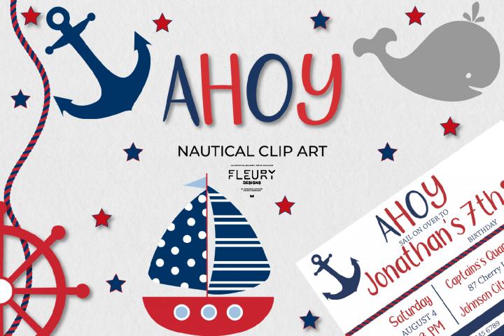 Nautical Sailor Clip Art