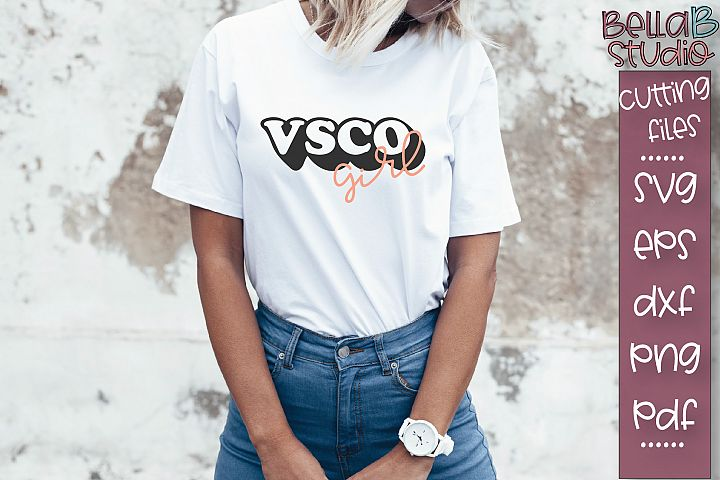 VSCO SVG, VSCO Girl SVG, SKSKSK and I Oop SVG