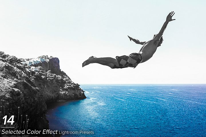 14 Selected Color Effect Lightroom Presets example