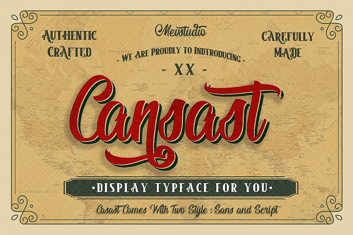 Cansast Font Duo