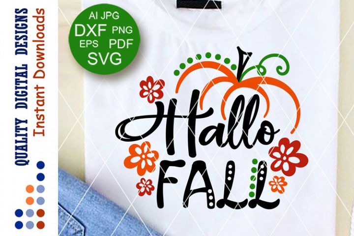 Hallo fall svg Thankful sign Home decor Thanksgiving