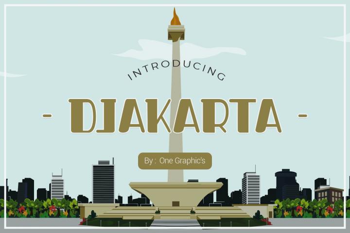 Djakarta Fonts