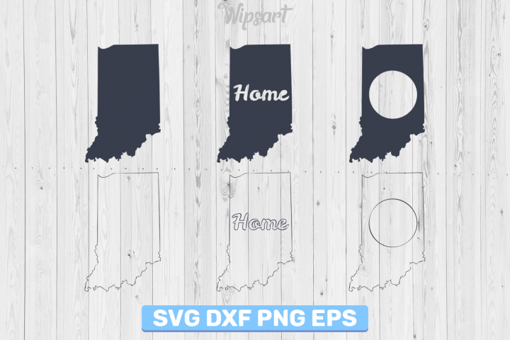 SALE! Indiana silhouette, indiana svg file, indiana png