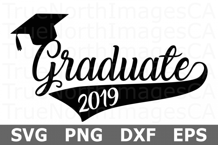 Graduate 2019 - A School SVG Cut File