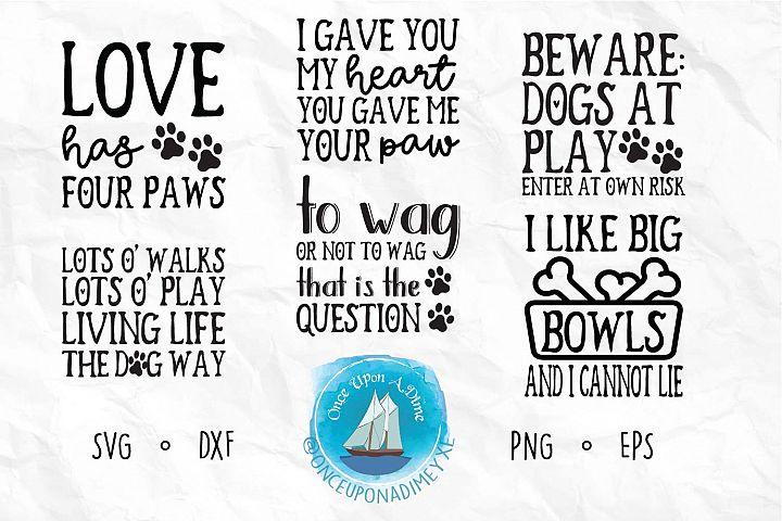 Pet Life Bundle | Pets | Dog and Cat SVG Cut File