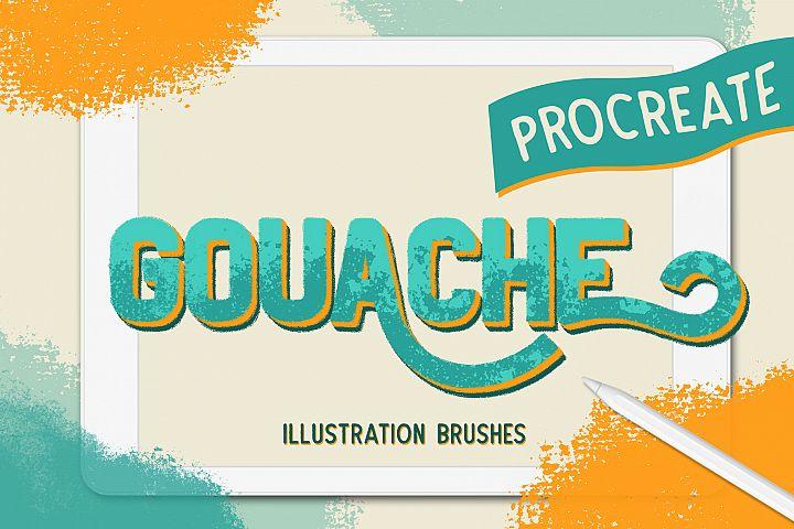 GOUACHE BRUSHES FOR PROCREATE