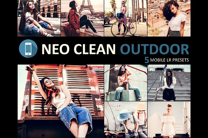 Neo Clean Outdoor Theme mobile lightroom presets