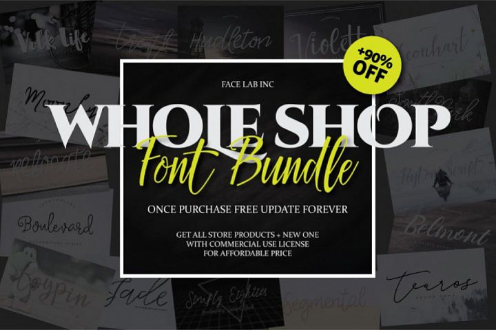 17 IN 1 FONT BUNDLE