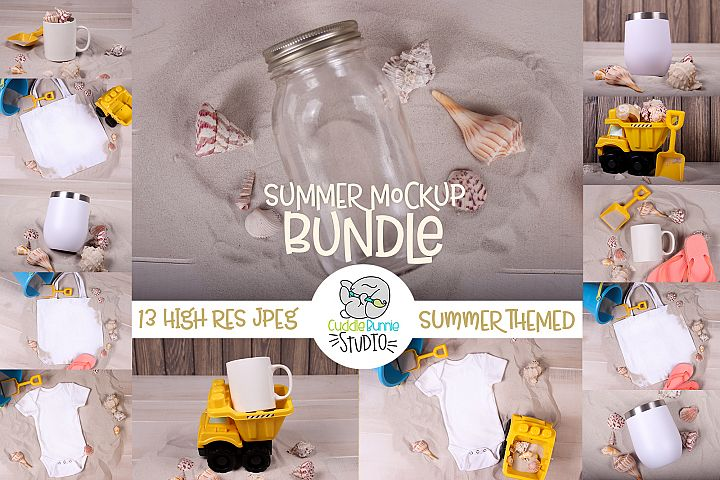 Summer Mockup | A Variety of Summer Themed Mockups