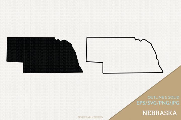 Nebraska Vector / Clip Art
