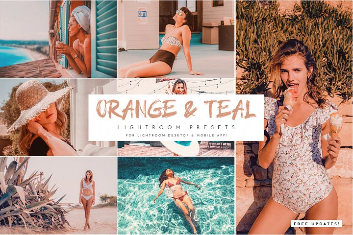 Orange & Teal Lightroom Presets Pack