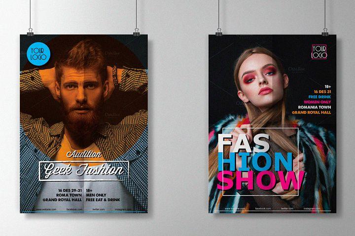 Fashion Show Flyers