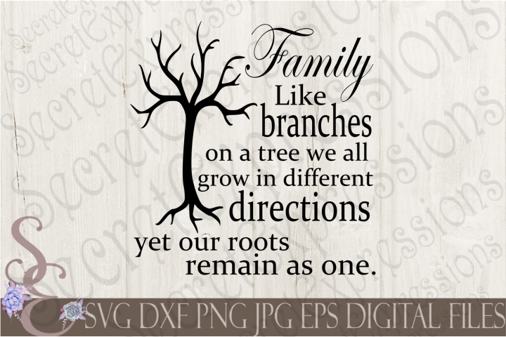 Family Like branches on a tree
