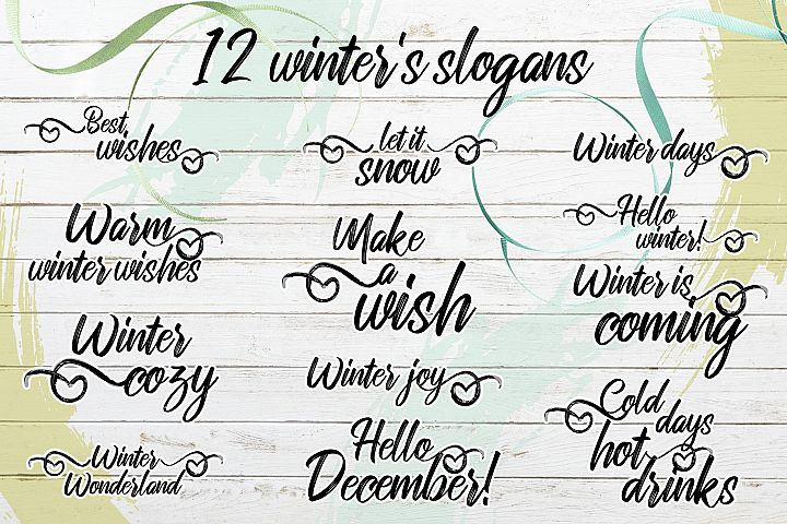 Winter's cute animals example 5