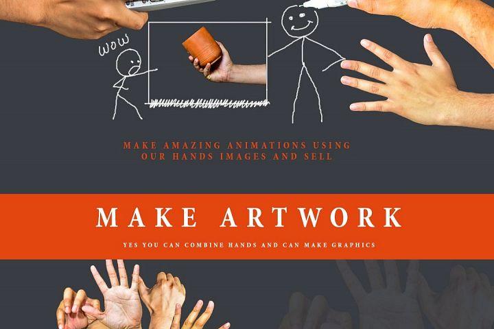 Hands Scene Creator - Free Design of The Week Design 1