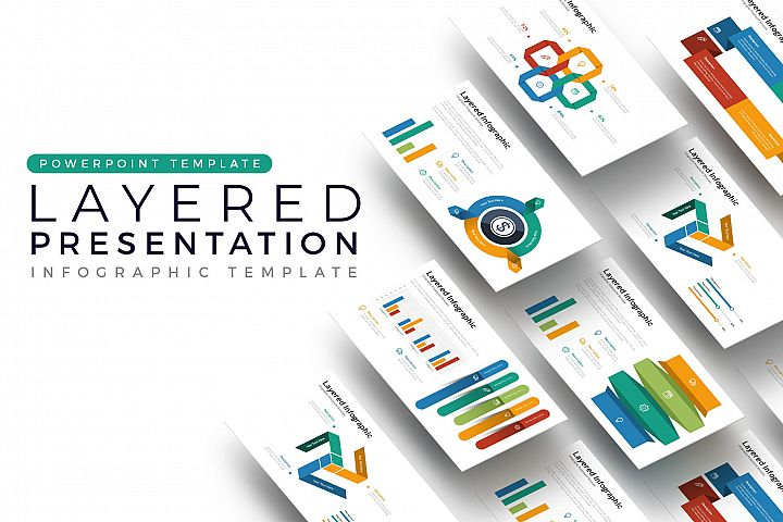 Layered Presentation - Infographic Template