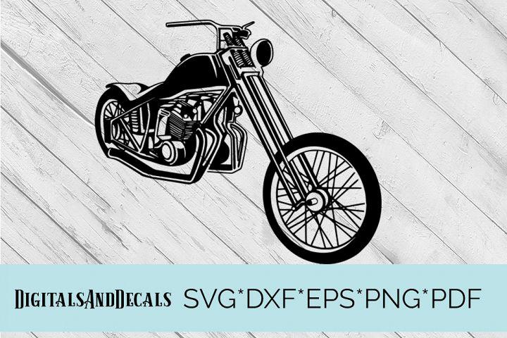 Harley Davidson Motorcycle SVG Cutting File