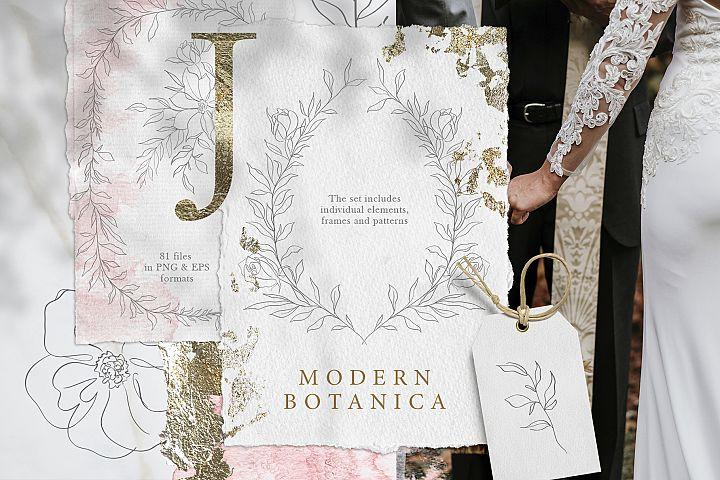 Modern Botanica -Elegant set