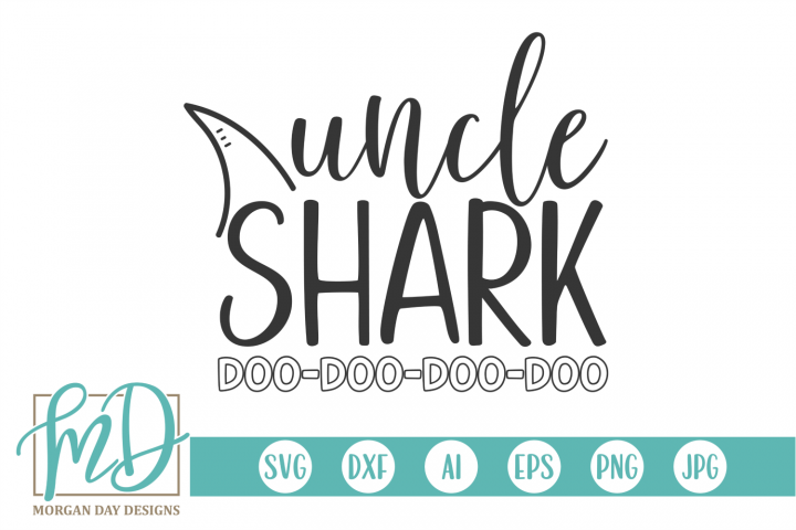 Uncle Shark SVG