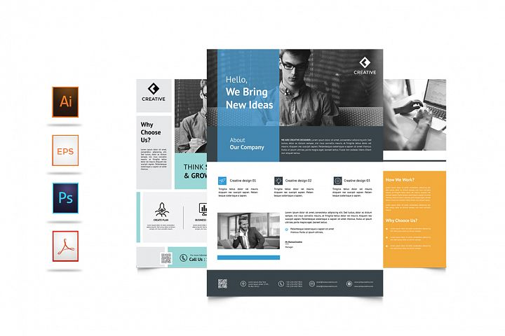 3 Design Corporate Business Flyer Vol. 7