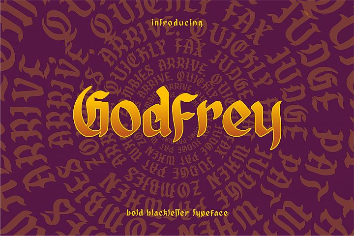 GODFREY - Blackletter