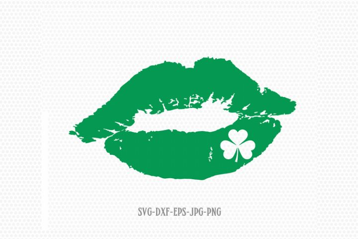 St Patricks Day kiss Svg, St Patricks Day Svg