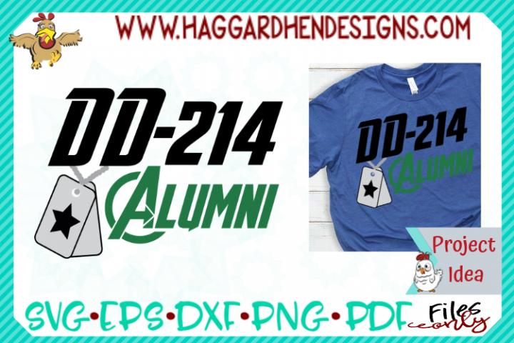 DD-214 Alumni SVG