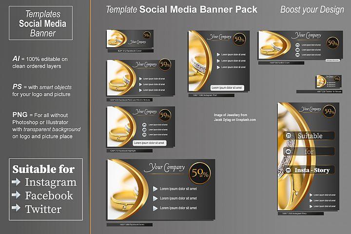 Template - Social Media Banner- Noble Design