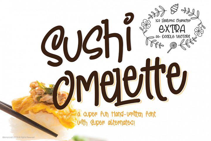 Sushi Omelette