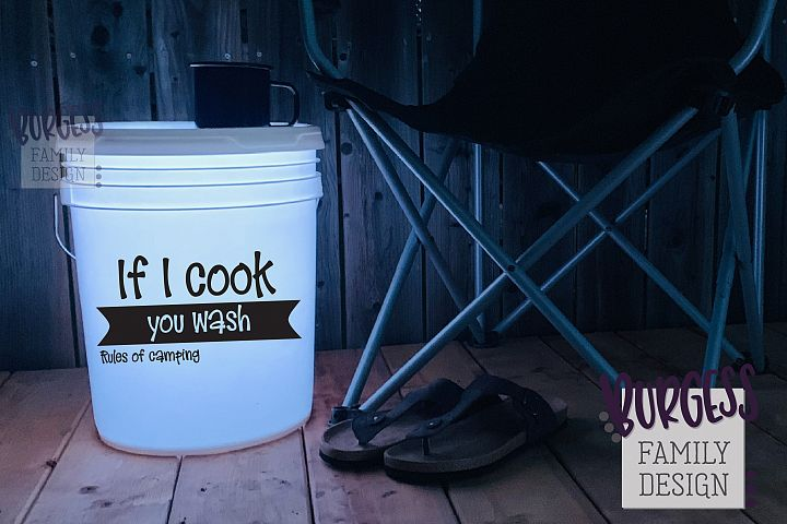 If I cook you wash | Cuttable file