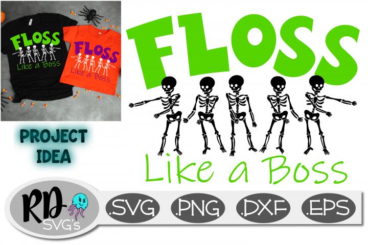FLOSS LIKE A BOSS - A Smooth Cutting Halloween Cricut File