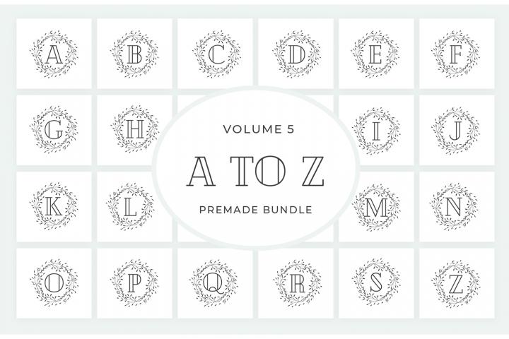 Vol.5 Alphabets Logo Templates