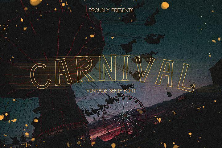Carnival | a festival serif