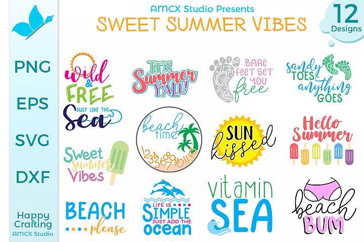 Sweet Summer Vibes - A Summer Craft Bundle