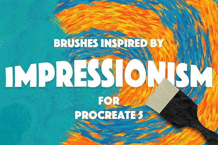 Procreate Impressionism Brushes
