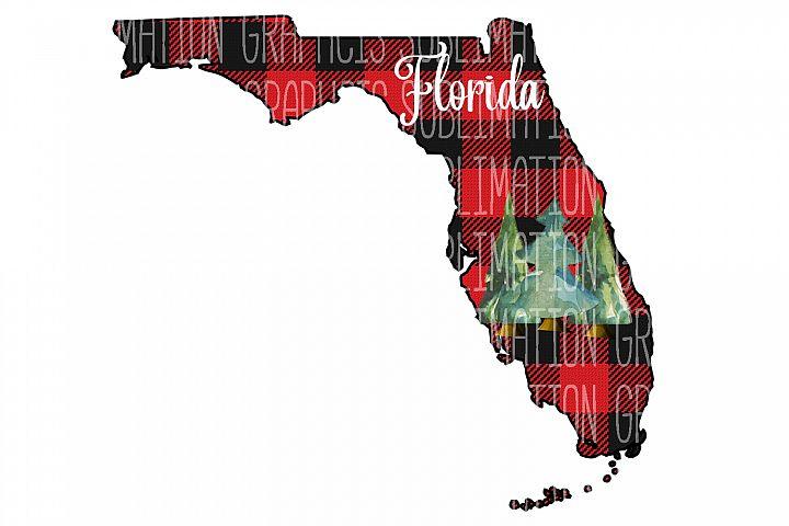 Florida Plaid Sublimation Digital Download