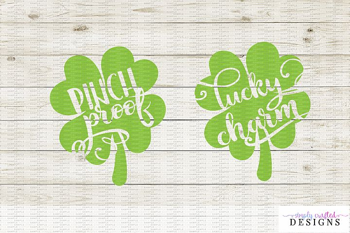 Pinch Proof / Lucky Charm Clovers
