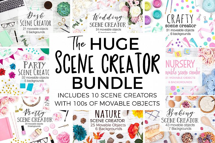The HUGE Scene Creator Bundle