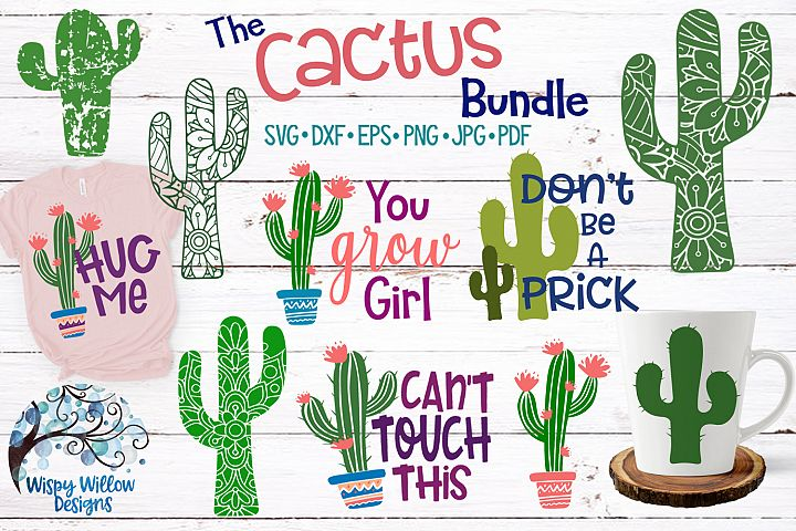 The Cactus Bundle - SVG Cut Files