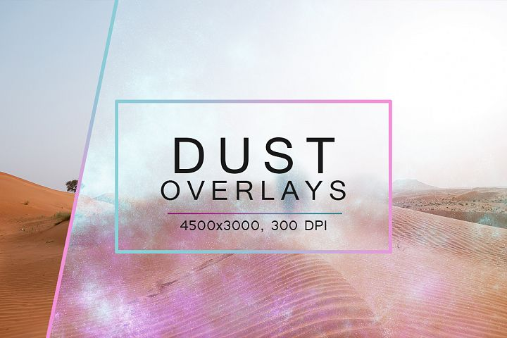 50 Dust Overlays