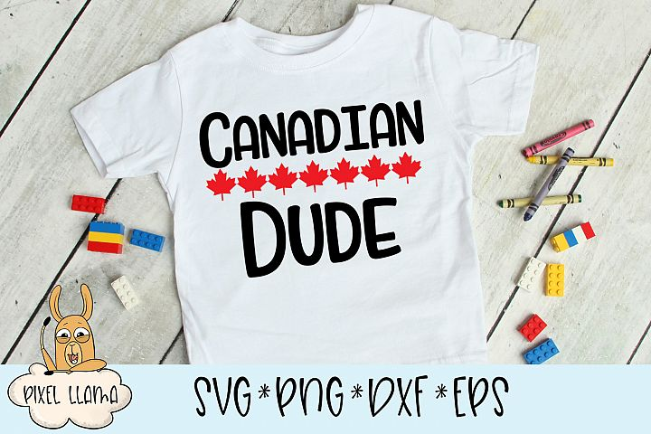Canadian Dude SVG