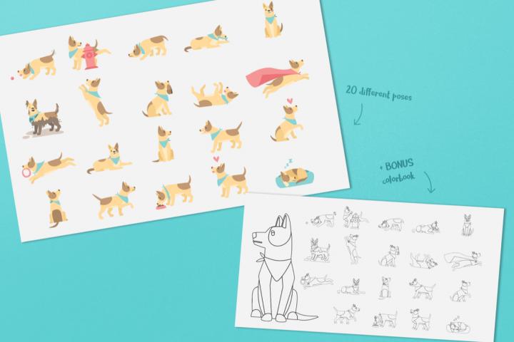 Dog Bundle - Free Design of The Week Design 1