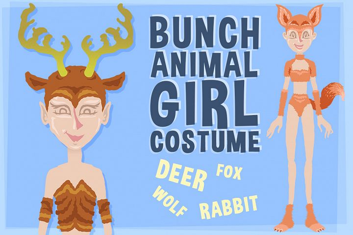 Bunch Animal Girl Costume