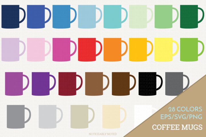 Coffee Mug Vector / Clip Art