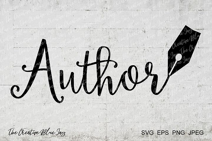 Author Pen Nib SVG PNG Cut Files