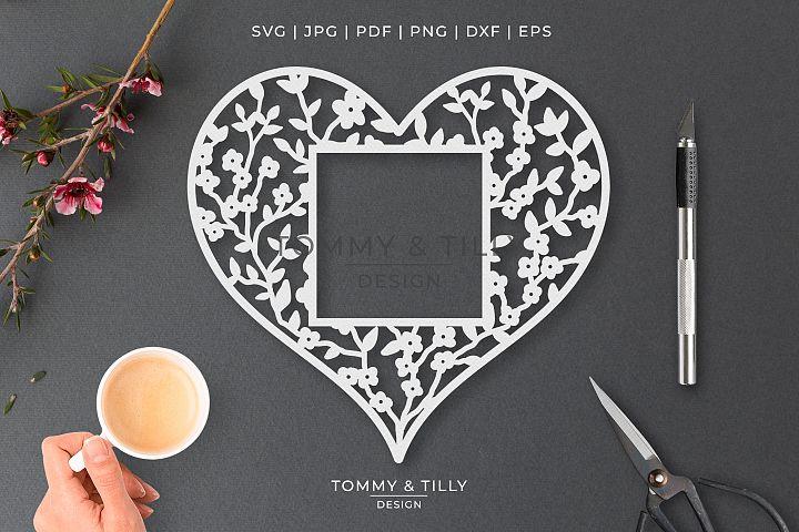Heart No.28 - Cut File SVG EPS DXF PNG PDF JPG