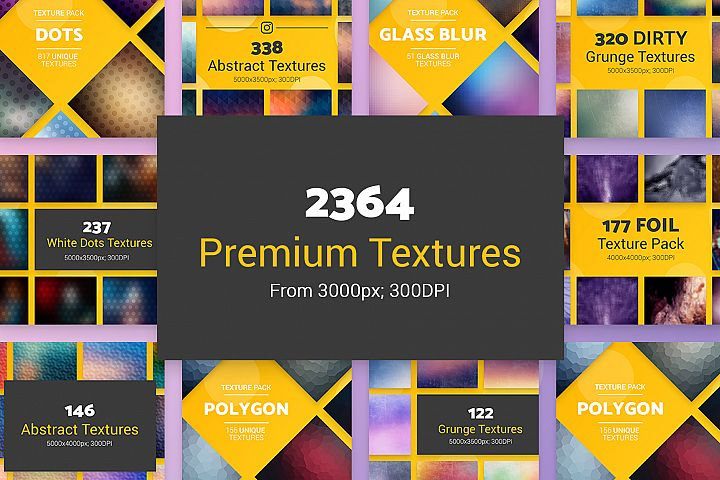 2364 Premium High Resolution Textures